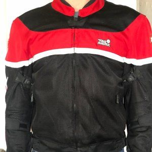 Other - LIKE NEW Tour Master Men's Motorcycle Mesh Jacket